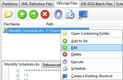 v5: How to use VBScript to create a monthly backup cycle (VBScript)